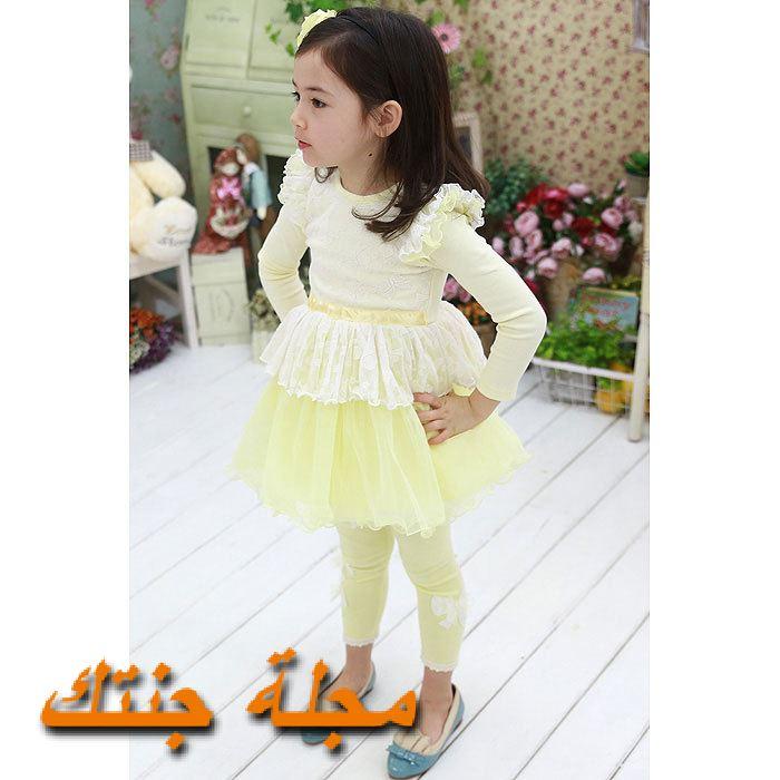 فستان شتوي رائع وجميل للطفال