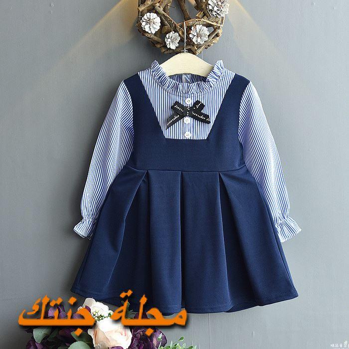 فستان شتوي سن سنة في منتهى الجمال