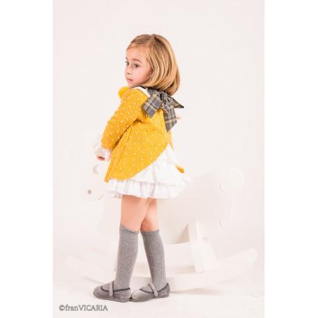 فستان شتوي للاطفال 2020