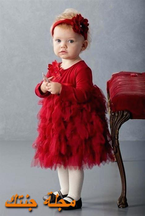 فستان شتوي للافراح جميل جداً