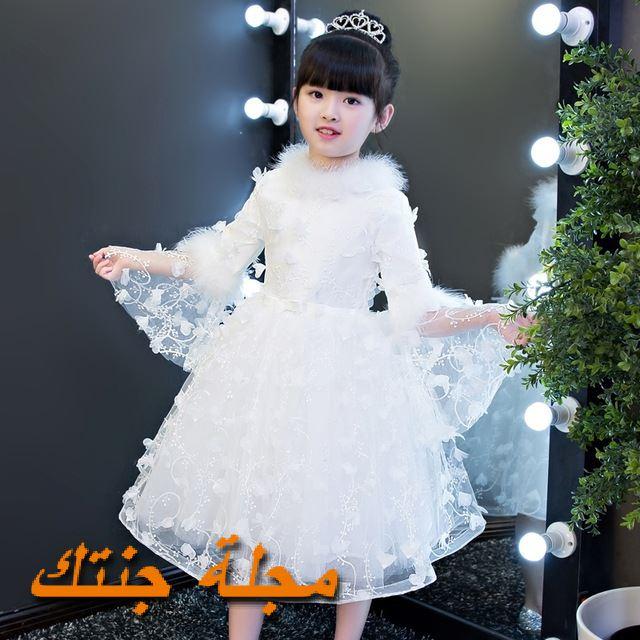 فستان شتوي للافراح