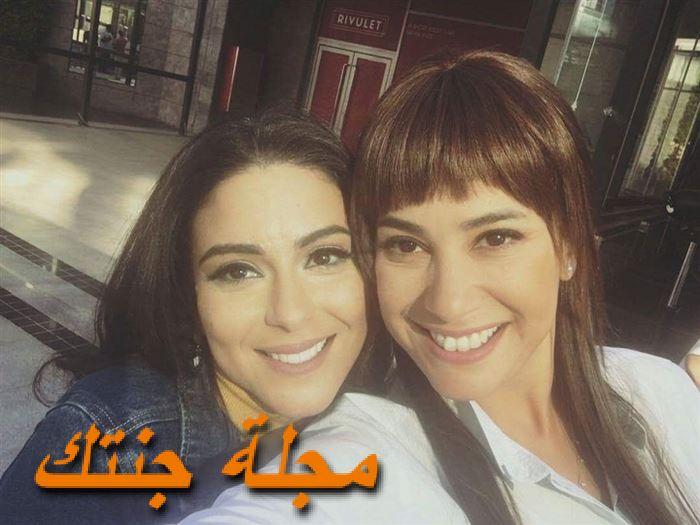 نهي عابدين وهند صبري من مسلسل حلاوة الدنيا