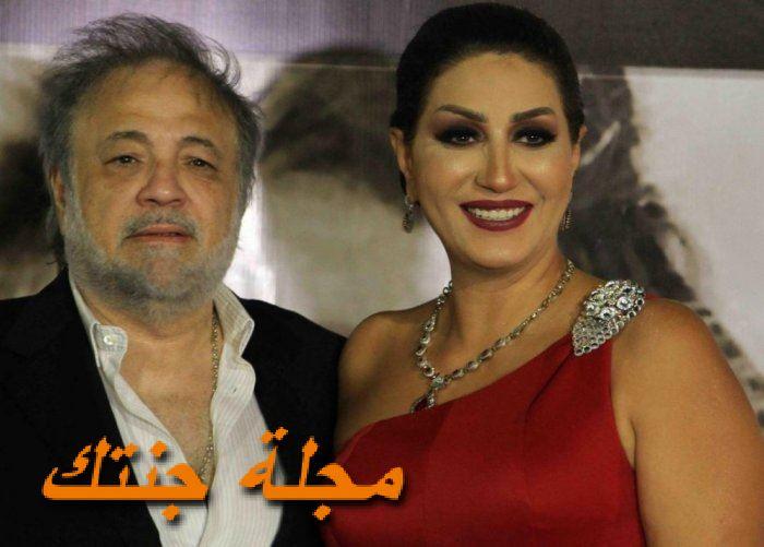 وفاء عامر وزوجها محمد فوزي