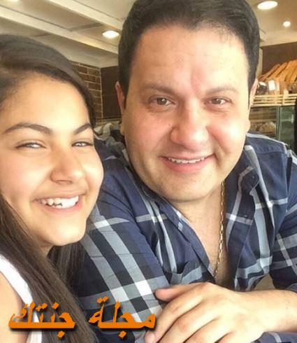 ادوارد مع ابنته