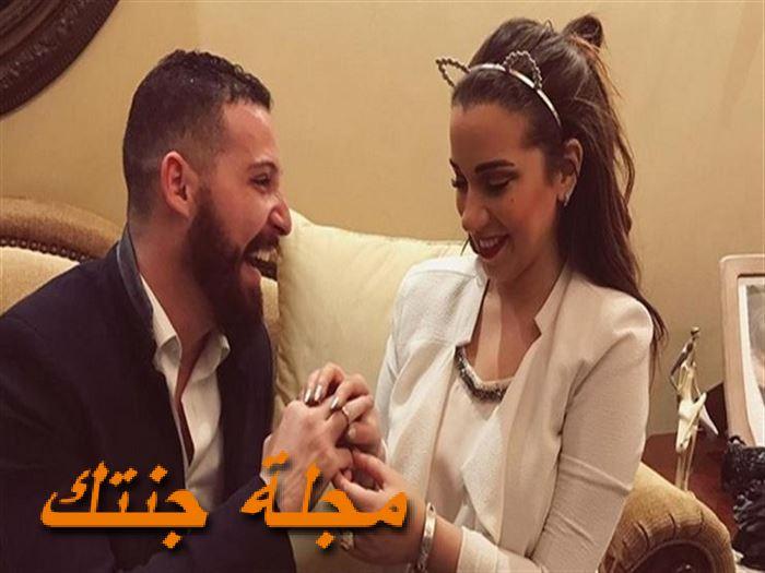 خطوبة محمود حجازي واسما شريف منير