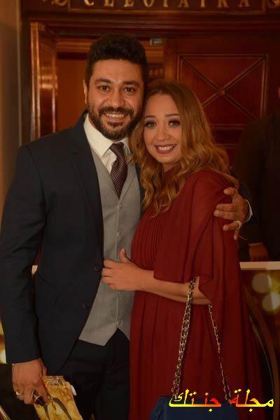 زوجة النجم محمد عز