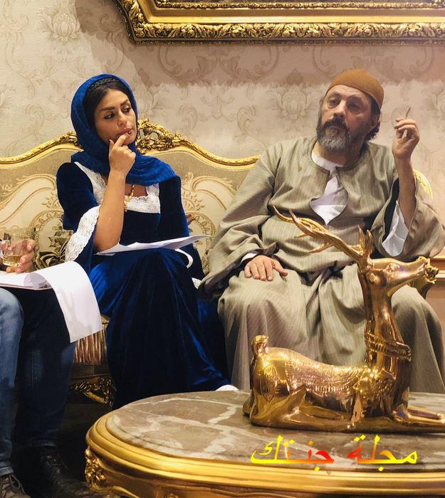 منة فضالي وعمرو عبد الجليل من مسلسل بنت القبايل