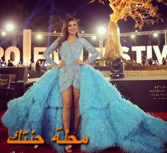 مي عمر من مهرجان القاهرة السينمائي