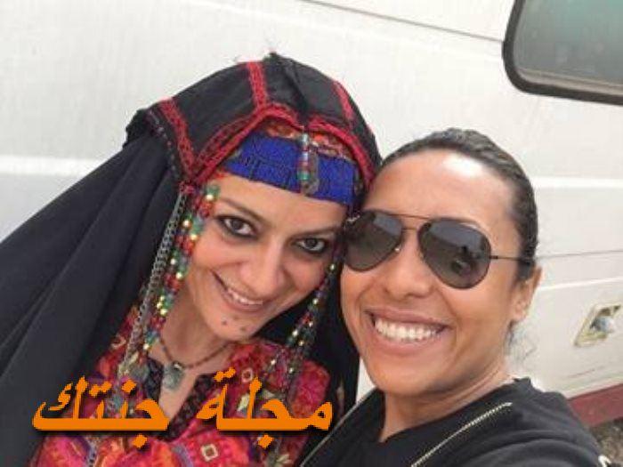 هبة عبد الغني من كواليس الاب الروحي 2