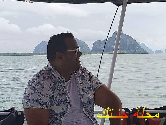 الممثل المصري الانفلونسر أحمد البسة