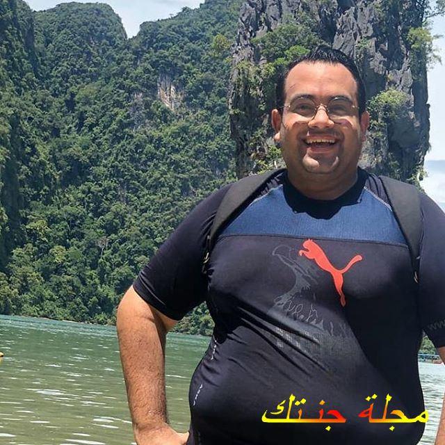 النجم الكوميدي أحمد البسة
