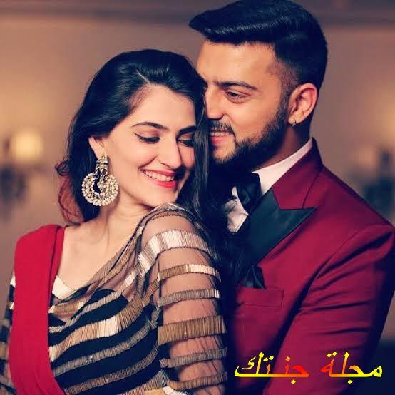 كرم راجبال وزوجته