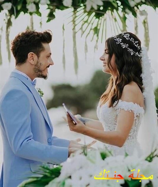من حفلة زفافه دينيز