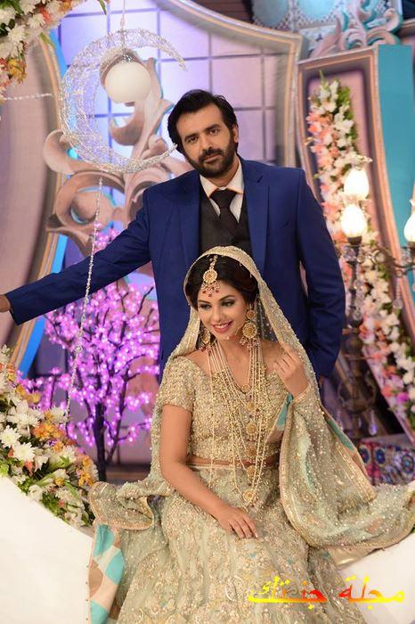 سونيتا مارشال من حفلة زفافها