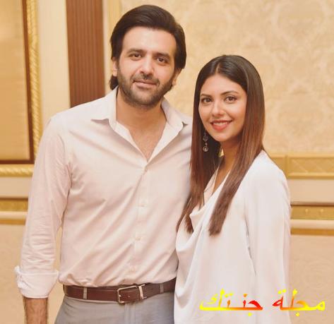 سونيتا مارشال وزوجها حسن