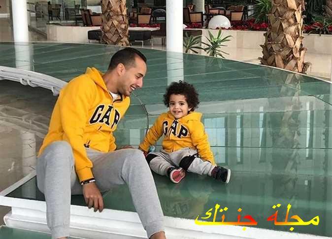 عمرو وهبة و ابنه يحيي