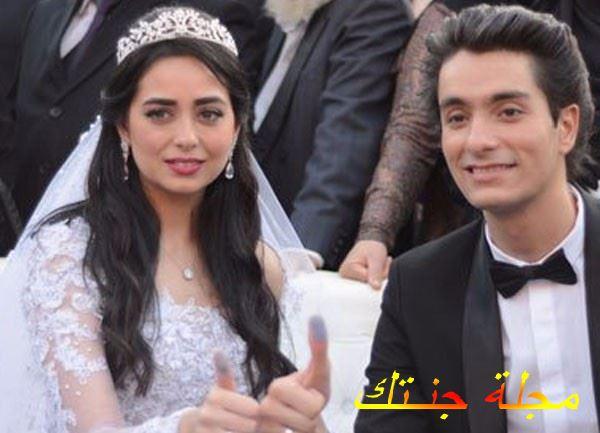 هبة مجدي من حفلة زفافها