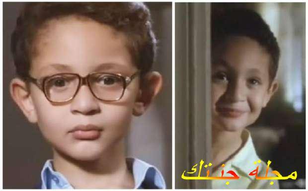يوسف عثمان وهوصغير