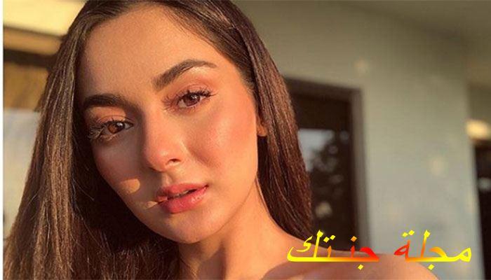 الممثلة Hania Aamir