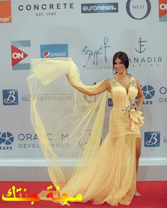الممثلة الجميلة هدى الاتربي