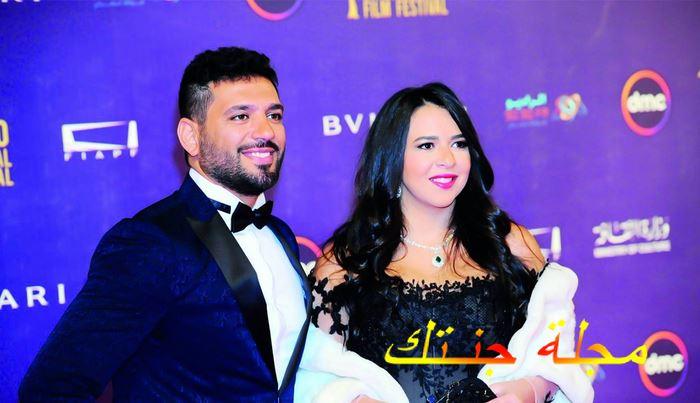 ايمي سمير غانم في المهرجان