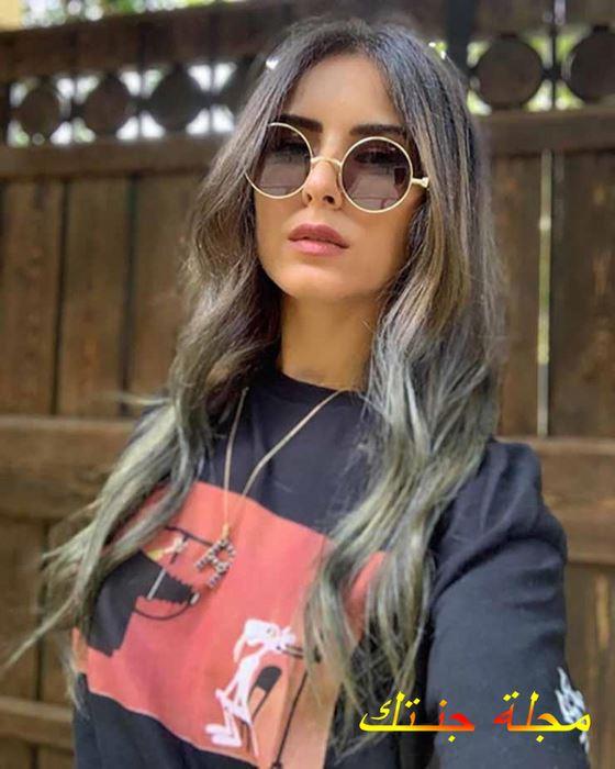سيلفي جميل للممثلة ريهام ايمن