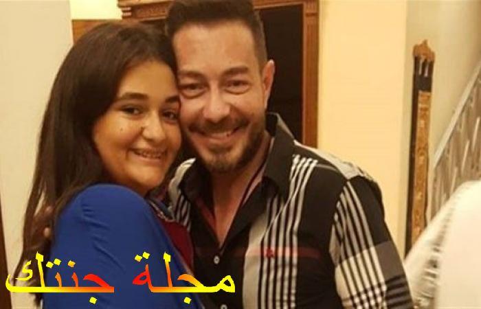 احمد زاهر وبنته ليلي