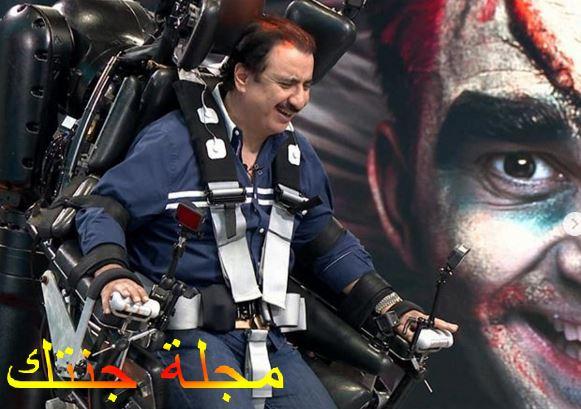 حسين عسيري فى برنامج رامز
