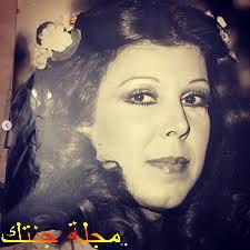 صورة قديمة للممثلة رجاء الجداوي
