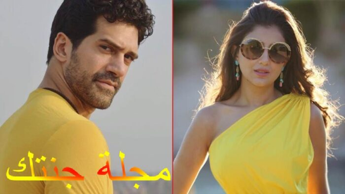 الفنانة مى عمر و احمد مجدى