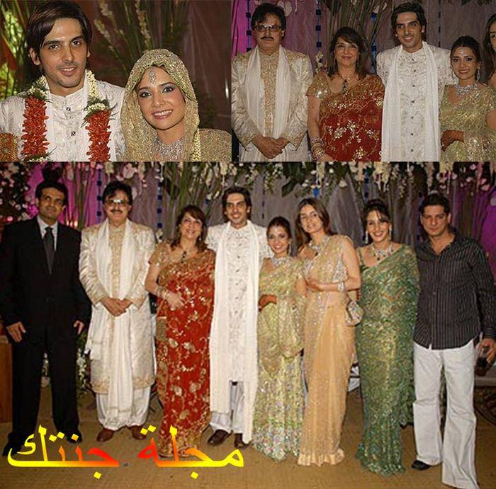 زايد خان في حفل زواجه