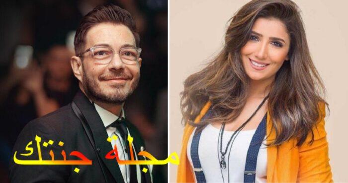 مى عمر و احمد زاهر ابطال العمل