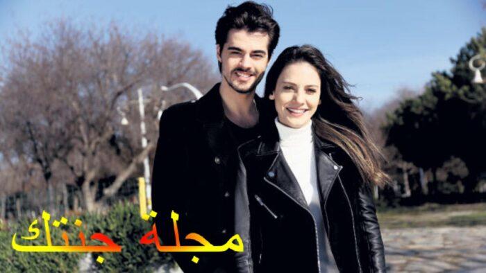 نيلاى مع زوجها