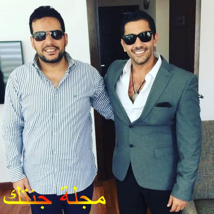 الفنان احمد فلوكس و المخرج حسام الجوهرى