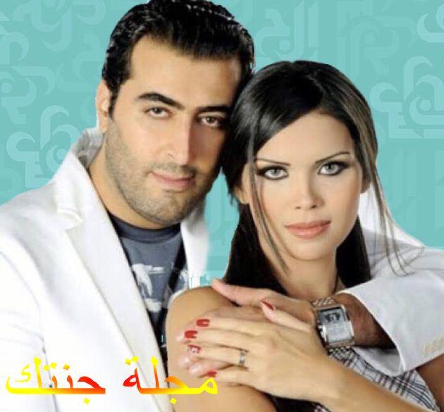 باسم ياخور و زوجته رنا الحريري