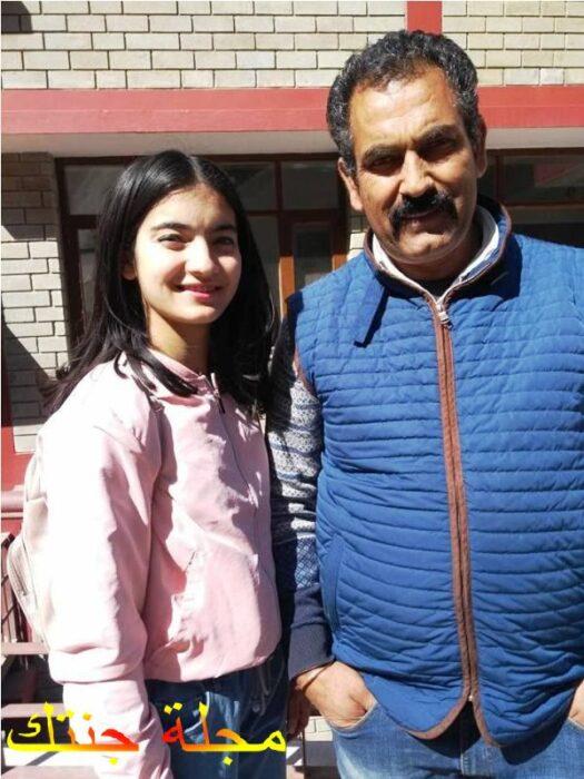 براتيبا مع والدها