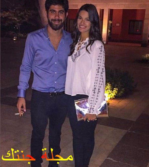 تارا و خطيبها عمرو حلمى