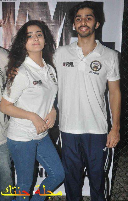 ديانا خان مع حبيبها