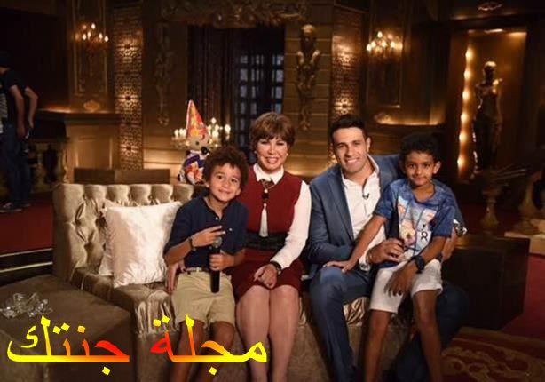 نجوى ابراهيم مع النجم محمد نور في برنامج بيت العيلة