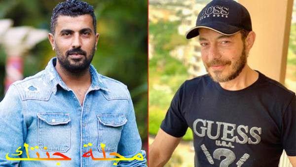احمد زاهر و المخرج محمد سامى
