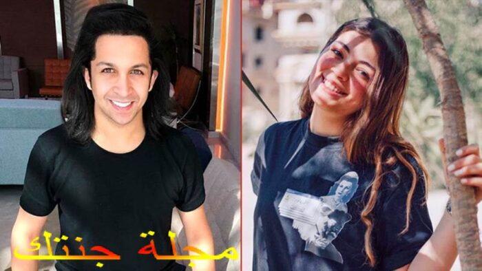ليلي زاهر و هشام جمال ابطال المسلسل