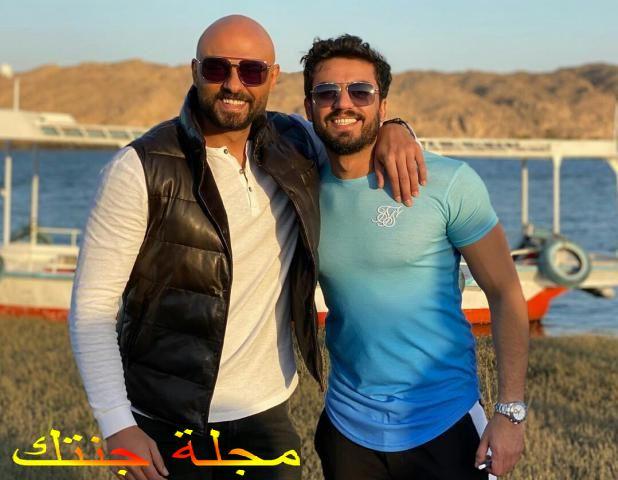 احمد صلاح حسنى و الفنان اسلام جمال