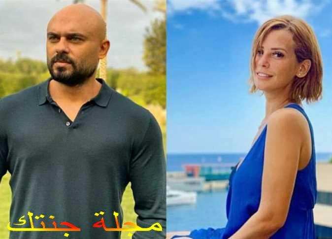 احمد صلاح حسنى و ايمان العاصى ابطال المسلسل