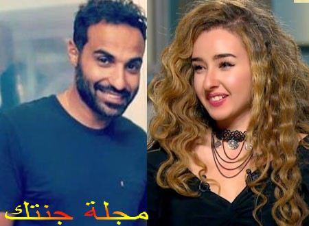 احمد فهمى و زوجته هنا الزاهد