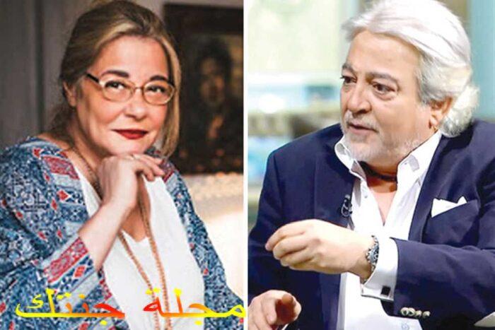 الفنانة مها ابو عوف و الفنان عماد رشاد مشاركين في المسلسل