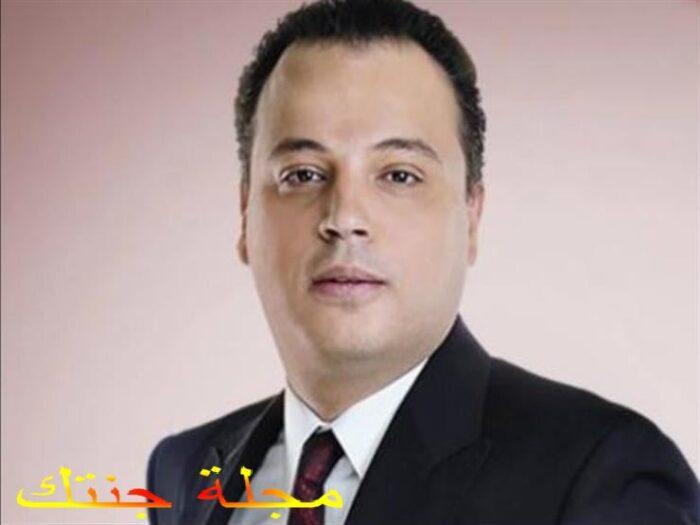 بطل و مؤلف العمل تامر عبد المنعم