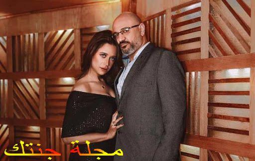راندا مع خطيبها المخرج ياسين العصامى