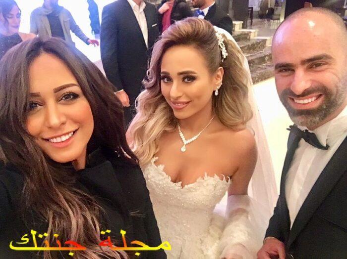 صالح عبد النبي في حفل زفافه