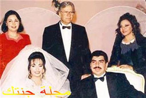 غادة نافع في حفل زفافها