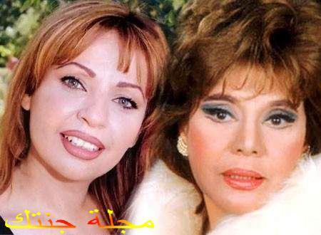 غادة نافع و الفنانة ماجدة